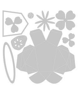 Sizzix Thinlits Die Set Olivia Rose Origami Rabit