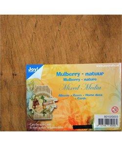 Joy Mulberry boombastvezels voor Mixed Media - Natuur