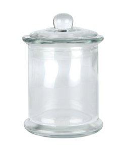 Glazen Pot Met Deksel 8x14,5cm