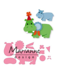 Marianne Design Collectable Happy hippo