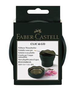 Faber Castell Clic & Go Waterbakje Groen