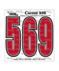 Crealies Stansmal cijfers 5, 6 en 9  h:13cm