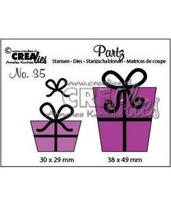 Crealies Stansmal Cadeautjes