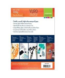Vaessen Yupo Papier wit A4 300 gr 10 st