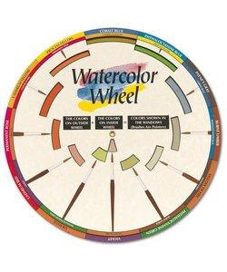 Watercolor Wheel doorsnede 23,5 cm