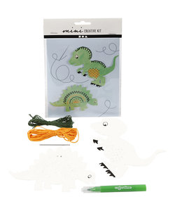 Mini Creative Kit Dinosaurus Borduren