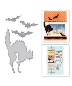 Spellbinders Die D-Lites Cat's and Bats
