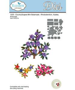 Elizabeth Craft design stencil Mini Botanicals