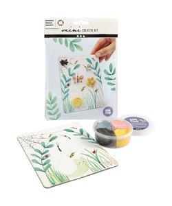 Mini Creative Kit Silk clay - nature
