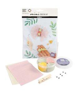Mini Creative Kit Silk clay - Vlinder Levenscyclus