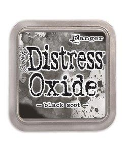 Ranger Distress Oxide Tim Holtz Black Soot