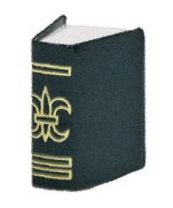 Miniatuur Boek 2x2,7cm