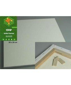 Canvas Wit 20x20cm  1.7cm 420g