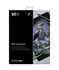 Spectrum Noir Premium Paper Pad 9x12'' 240g Black