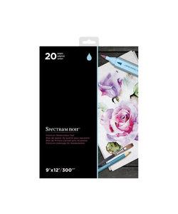 Spectrum Noir Premium Watercolour Pad 9x12'' 300g