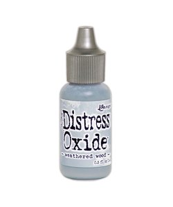 Ranger Tim Holtz Distress Oxide Re-Inker 14ml Weathered Wood