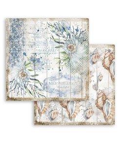 Stamperia Paper 12x12'' Romantic Sea Dream Shells