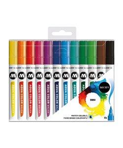 Molotow Aqua Color Brush Set 1 (12)