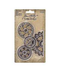 Tim Holtz Idea-Ology Industrial Gears 4 pcs.