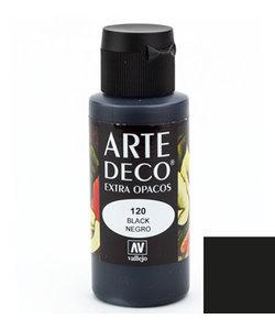 Arte Deco Acrylverf 60ml Black