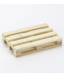 Miniatuur Houten Pallet 2x8x12cm
