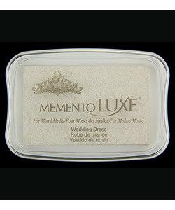 Memento Luxe Wedding Dress White