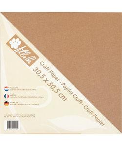 Kraft paper 30,5x30,5 300 gr. 20 vel