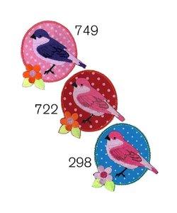 Restyle Applicatie vogel, bloem nr. 298