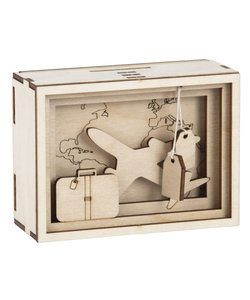 Rayher Houten 3D Geschenkbox Journey 5x8,5x11,5cm