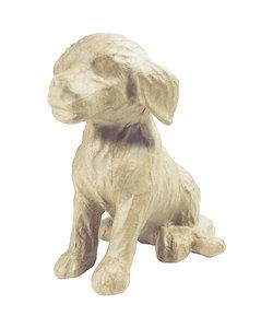 Decopatch Papier Maché Hond 15x13x18cm