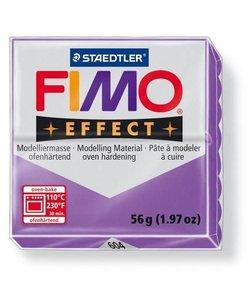 Fimo Effect Translucent Boetseerklei 57g nr. 604 Lila Paars