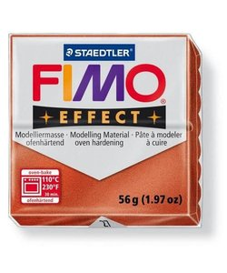 Fimo Effect Metallic Boetseerklei 57g nr. 27 Koper