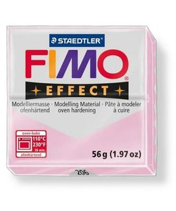 Fimo Effect Gemstone Boetseerklei 57g nr. 206 Rose Quartz