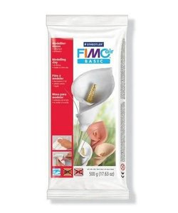 Fimo Air Basic Boetseerklei 500g Wit