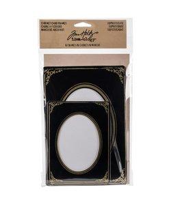 Tim Holtz Idea-Ology Cabinet Card frames Sophistiate 6 pcs.