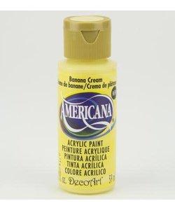 Americana Decor Acryl 59ml Banana Cream