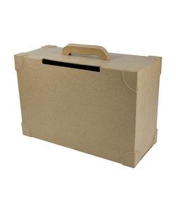 Decopatch Papier Mache Koffer 14,5x36x23,5 cm