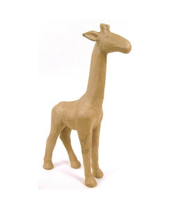 Decopatch papier mache giraf 29x10x56cm