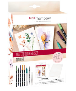 Tombow Watercoloring set Nature