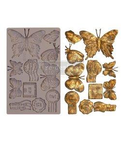 Prima Marketing mould 5 x 8 inch. Butterfly in Flight