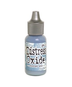 Ranger Tim Holtz Distress Oxide Re-Inker 14ml Stormy Sky