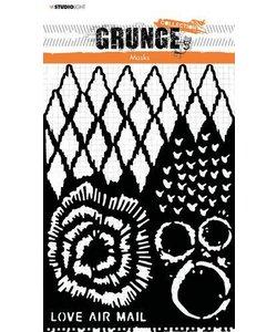Studio Light Grunge Collection A5 Mask stencil nr.19