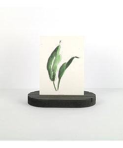By Woom MDF Cardholder 1,9x9x16cm Zwart