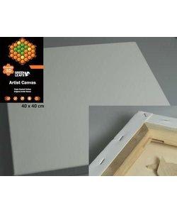 Canvas Wit 40x40cm 3.8cm 420g