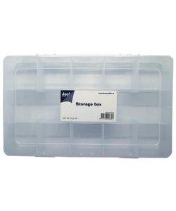 Joy Opbergbox met vakverdeling 11 vaks  27x16x5,3cm