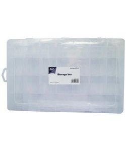 Joy Opbergbox met vakverdeling 23 vaks  34x21x4,3cm