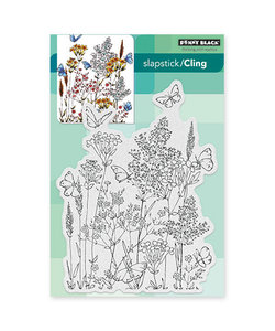 Penny Black Cling rubber stamp Butterfly dance
