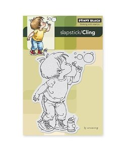 Penny Black Cling rubber stamp Bubble boy
