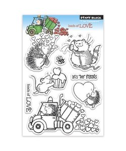 Penny Black Clear stamp Loads of love