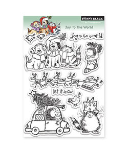 Penny Black Clear stamp Joy to the world